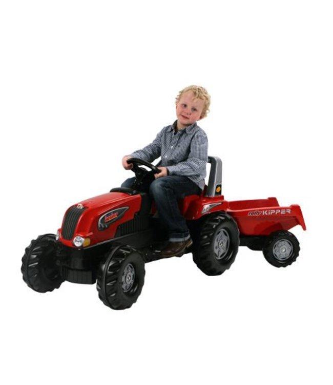 Rolly Toys RollyJunior RT Tractor met Aanhanger