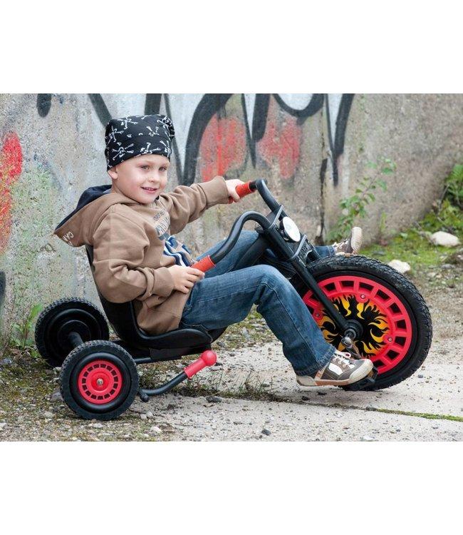 Hauck-Toys Hauck Typhoon Driewieler Chopper Zwart/Rood