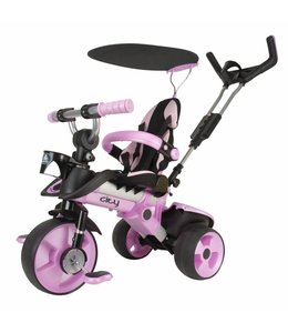 Injusa Injusa City Trike Meegroei Driewieler Roze