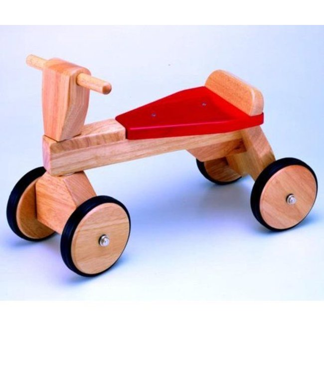 Pintoy Pintoy P00538 Natural Trike Houten Loopfiets