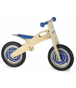 Simply for Kids Houten Loopfiets Blauw