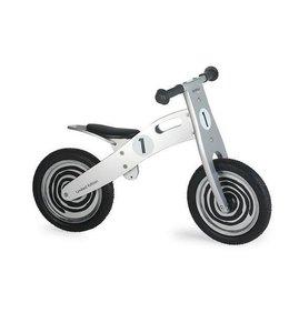 Simply for Kids Houten Loopfiets Silver