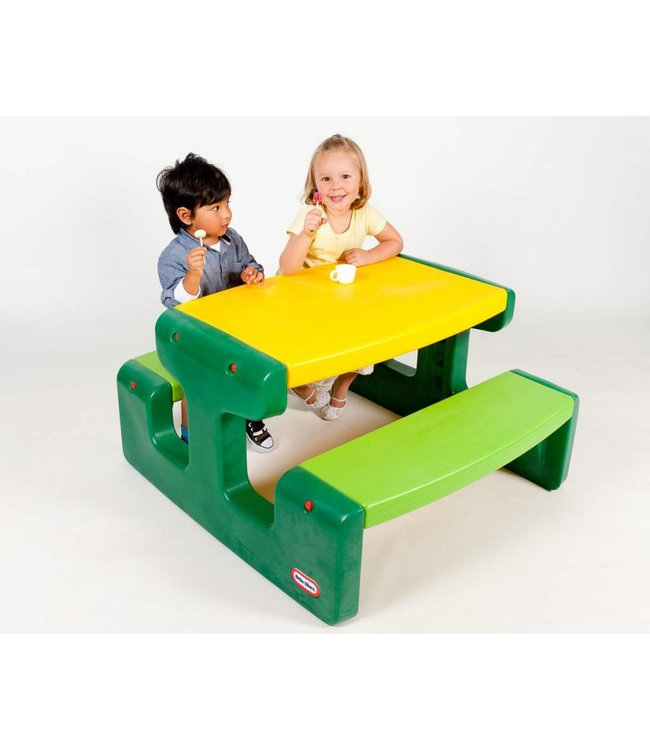 Little Tikes Little Tikes 466A Grote Picknicktafel Evergreen