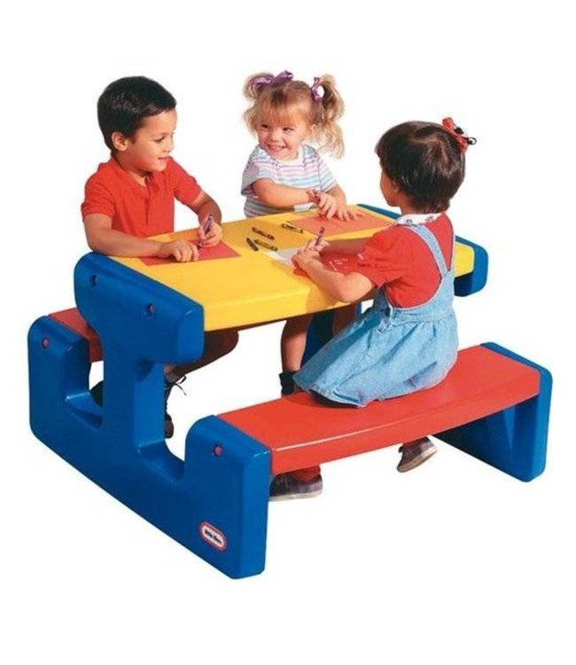 Little Tikes Little Tikes 4668 Grote Picknicktafel Primary