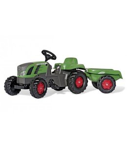 Rolly Toys RollyKid Fendt 516 Vario Tractor + Aanhanger
