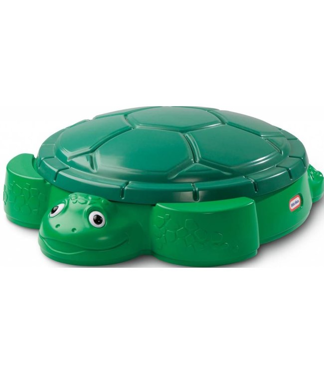 Little Tikes Little Tikes Zandbak Turtle 109x120x38cm Met deksel