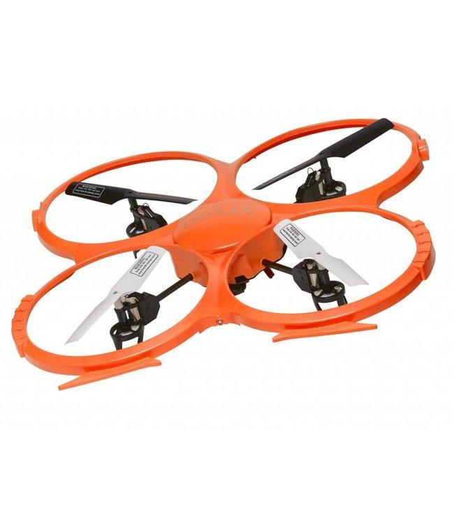 Denver Denver DV-DCH-330 R/c Drone Radiofrequentie 720p Camera Oranje / Zwart