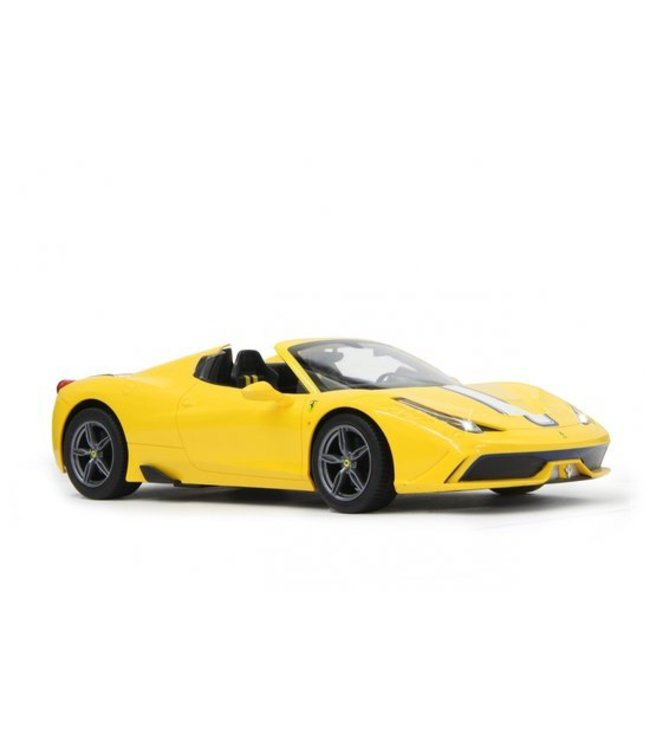 Jamara Jamara RC Ferrari 458 Speciale A 27 MHz RTR + Lights 1:14 Yellow