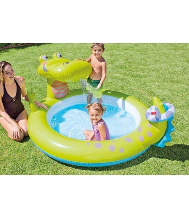 Intex Intex Krokodil Spray Zwembad