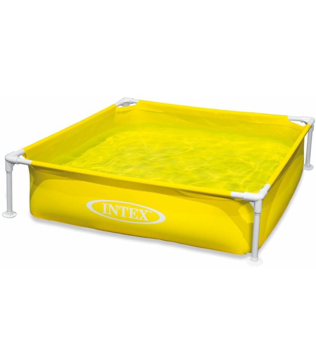 Intex Intex 57172NP Mini Frame Pool Geel 122x122cm