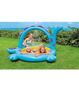 Intex Intex 57437NP Dino Kinderzwembad met Sproeier 229x165x117cm