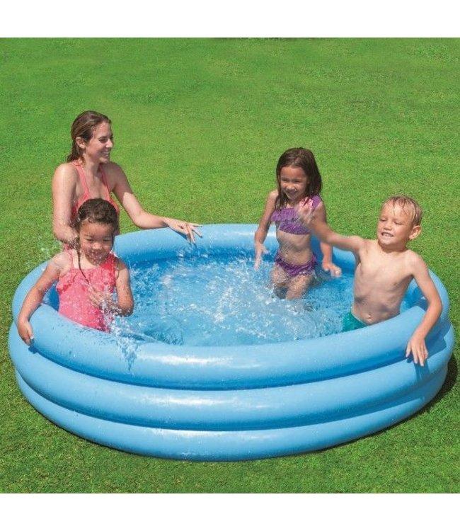 Intex Intex Crystal Blauw Pool 147x33cm