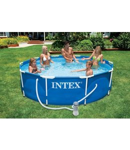 Intex Intex 28202GN Frame Zwembad 305x76cm + Pomp