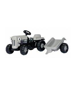 Rolly Toys RollyKid Fergie Tractor met Aanhanger Grijs