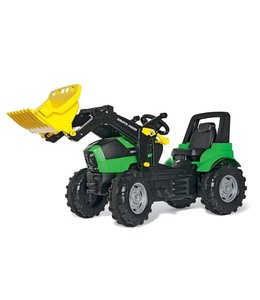 Rolly Toys 710034 RollyFarmtrac Deutz-Fahr Agrotron X720 Tractor met Lader