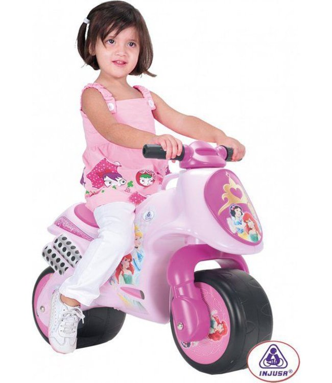 Injusa Injusa Princess Motorbike Loopmotor