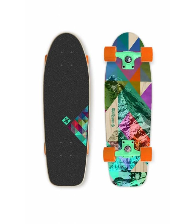 Street Surfing Street Surfing Cruiser Rocky Mountain Skateboard