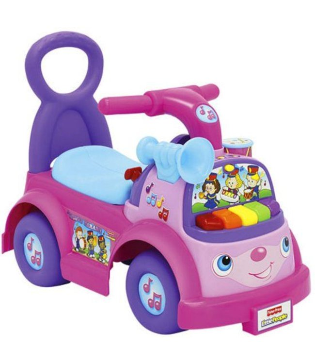 Fisher Price Fisher Price Little People Loopauto Roze