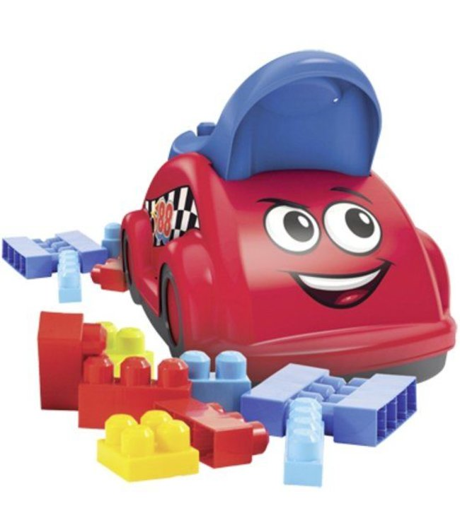 Mega Bloks Mega Bloks Whirl 'n Twirl Raceauto met Opbergruimte