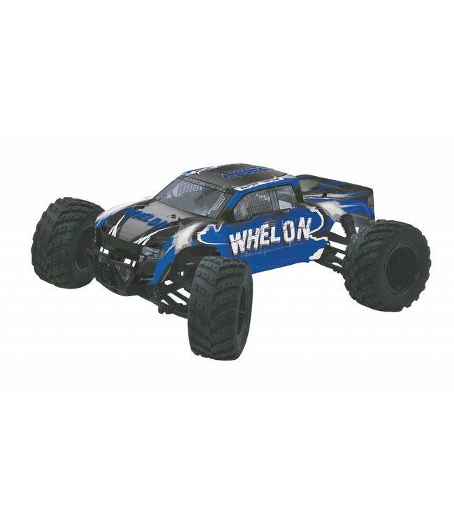 Jamara Jamara JAM-053355 R/c 4wd Whelon Rtr / 4-wd / With Ball Bearing / Waterproof 2.4 Ghz Control 1:12 Blauw