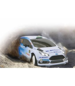 Jamara Jamara JAM-405089 R/c Car Ford M-sport Fiesta Wrc 2015 Rtr / With Lights 1:16 Wit