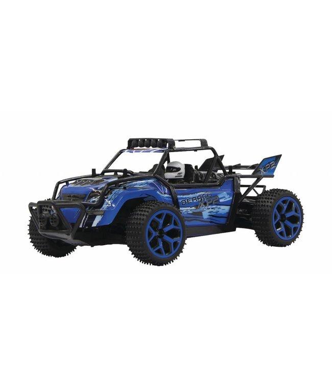 Jamara Jamara JAM-410013 R/c Buggy Derago Xp2 Rtr / 4-wd 2.4 Ghz Control 1:18 Blauw