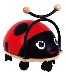 Simply for Kids Simply for Kids 36072 Houten Ride On Lieveheersbeestje