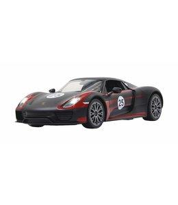Jamara Jamara RC Porsche 918 Spyder 27 MHz RTR + Lights 1:14 Black