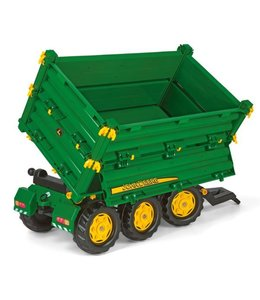 Rolly Toys Rolly Toys 125043 RollyMulti John Deere Trailer 3-assig