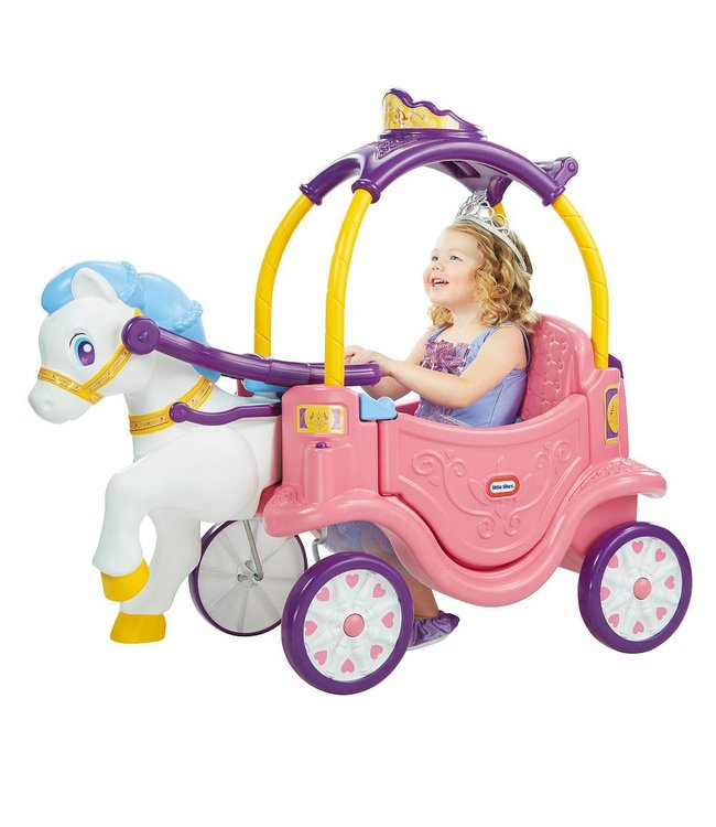 Little Tikes Little Tikes Princess Horse & Carriage Loopauto