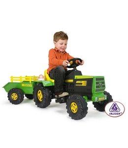 Injusa Injusa Tractor Basic + Aanhanger 6V 1+
