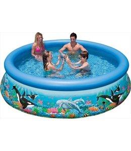 Intex Intex Easy Set 28126GS Ocean Reef Zwembad 305x76cm + Pomp