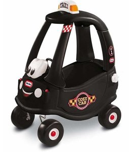 Little Tikes Little Tikes Cozy Coupe Taxi Loopauto Zwart