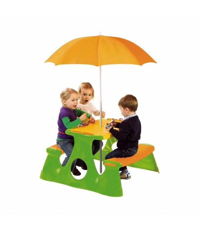 Paradiso Toys Picknicktafel met Parasol