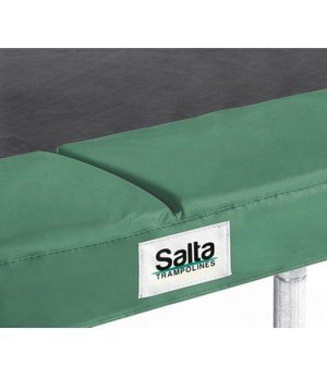 Salta Salta 598G Trampoline Beschermrand Groen voor Vierkante Trampoline 214 x 305cm