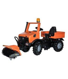 Rolly Toys 038190 RollyUnimog Service + Sweepy + Zwaailicht