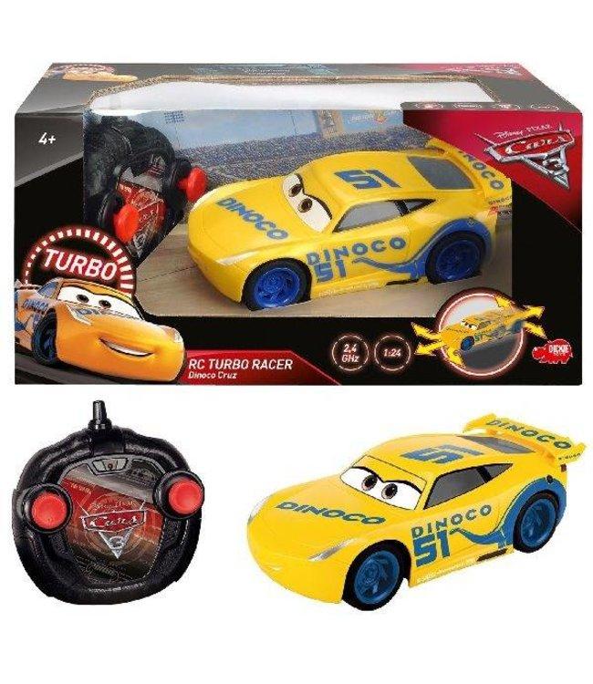 Dickie Disney Cars 3 RC Cruz Ramirez Turbo 17cm
