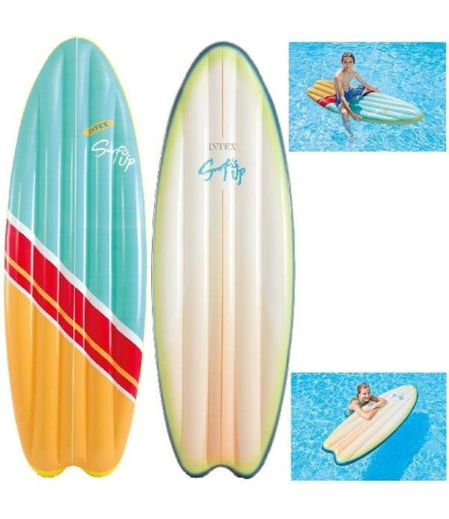 Intex Intex Surf's Up Luchtbed 178x69cm Assorti