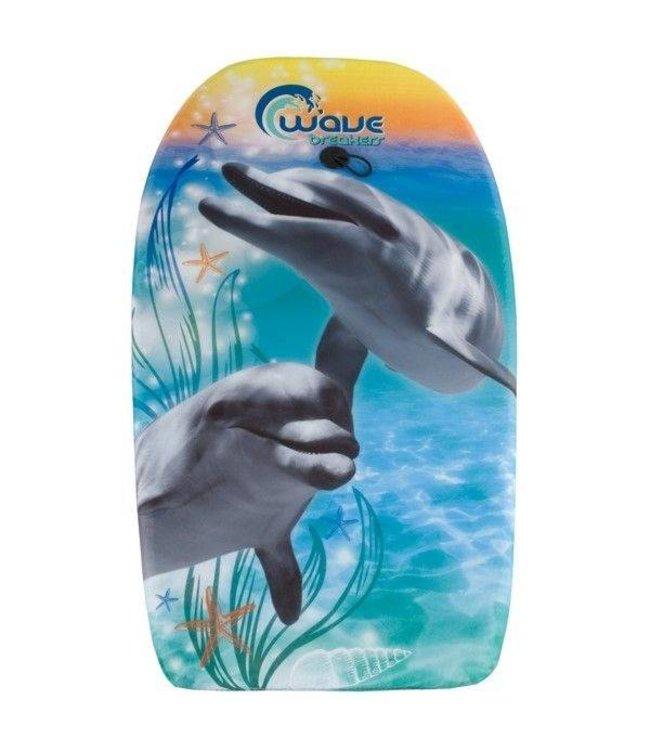 Basic Bodyboard Dolfijn 83cm