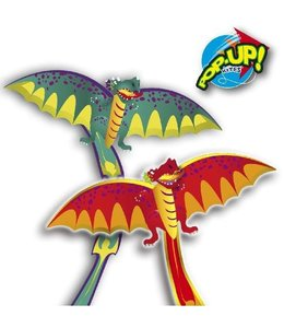 Rhombus Rhombus Pop-Up 3D Dragon Vlieger Assorti