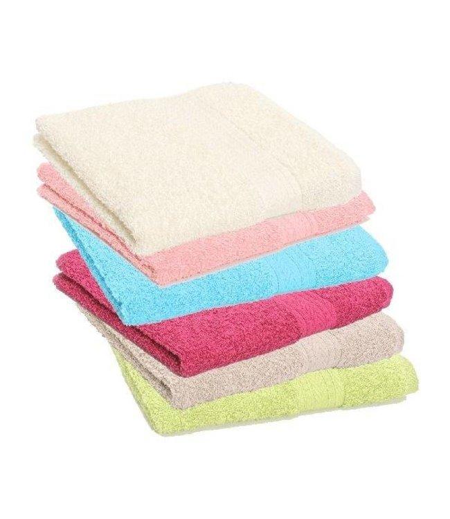 Basic Handdoek 50x100cm Assorti