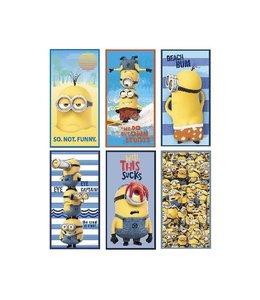Minions Minions Badlaken 70x140 Assorti