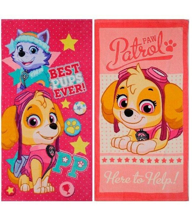 Paw Patrol Paw Patrol Girl Badlaken 70x140 Asssorti