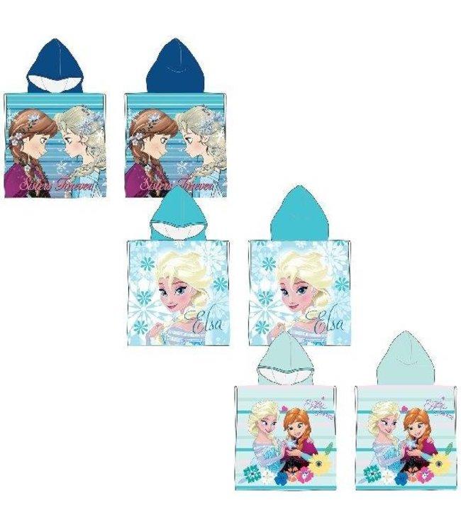 Disney Frozen Disney Frozen Poncho Handdoek 50x100cm Assorti
