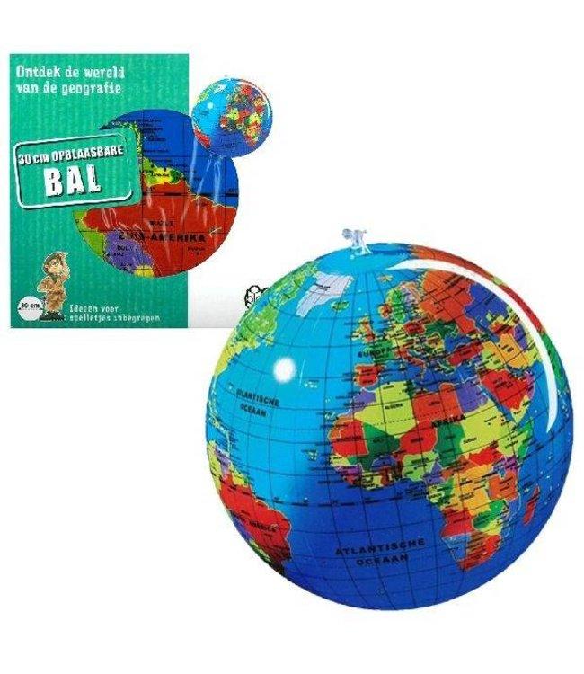 Basic Opblaasbare Globe 30cm