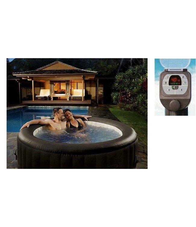 Intex Intex 28422EX PureSpa Jet Massage Jacuzzi 4-Persoons Set 196/145x71cm