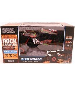 Basic Rock Crawler RC Auto Rally 4WD USB Charger 1:10