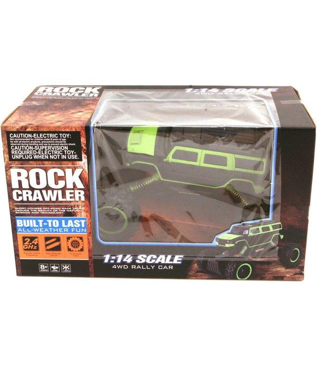 Basic Rock Crawler RC Auto Rally 4WD USB Charger 1:14