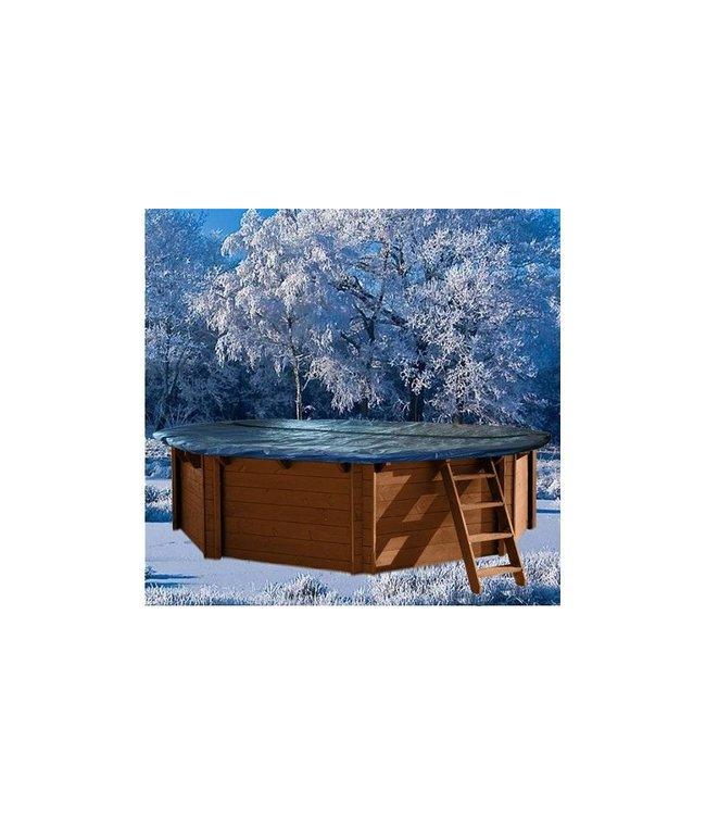 Interline Interline Winterafdekking voor Houten Zwembad 6-Hoek 355cm