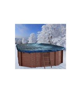 Interline Interline Winterafdekking voor Houten Zwembad Ovaal 8-Hoek 640x400 cm